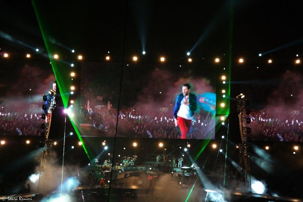 Jovanotti backup tour san siro io c 39 ero for Samsung arena milano