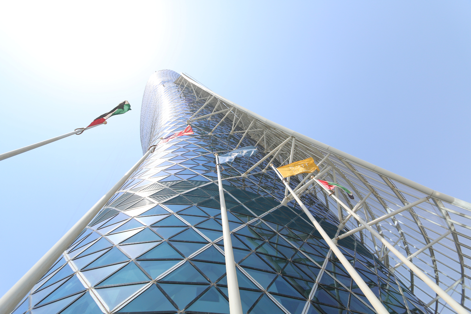 Abu Dhabi Capital Gate THEOLDNOW (1)