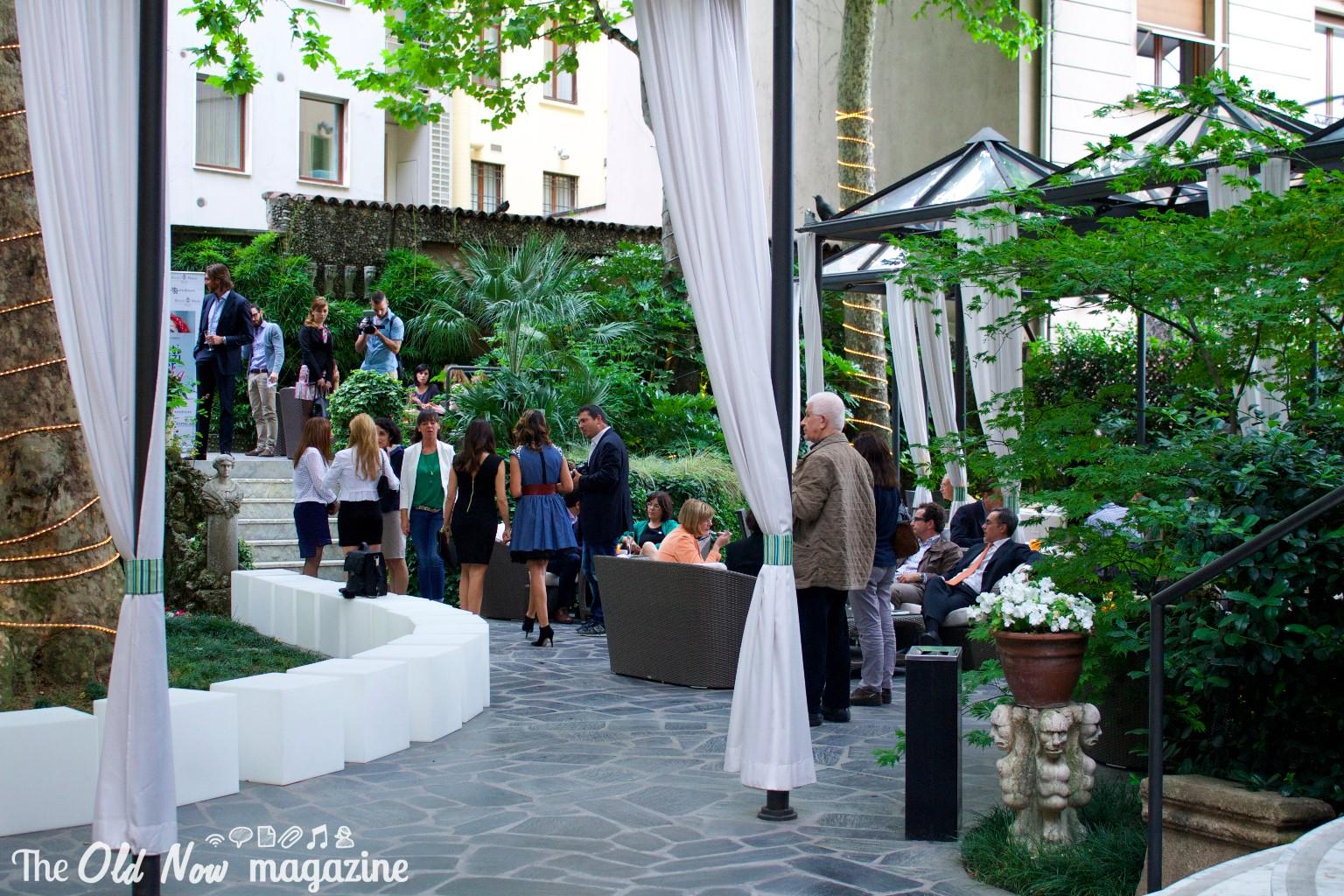 Hotel manin inaugurazione manin garden for Hotel manin milano