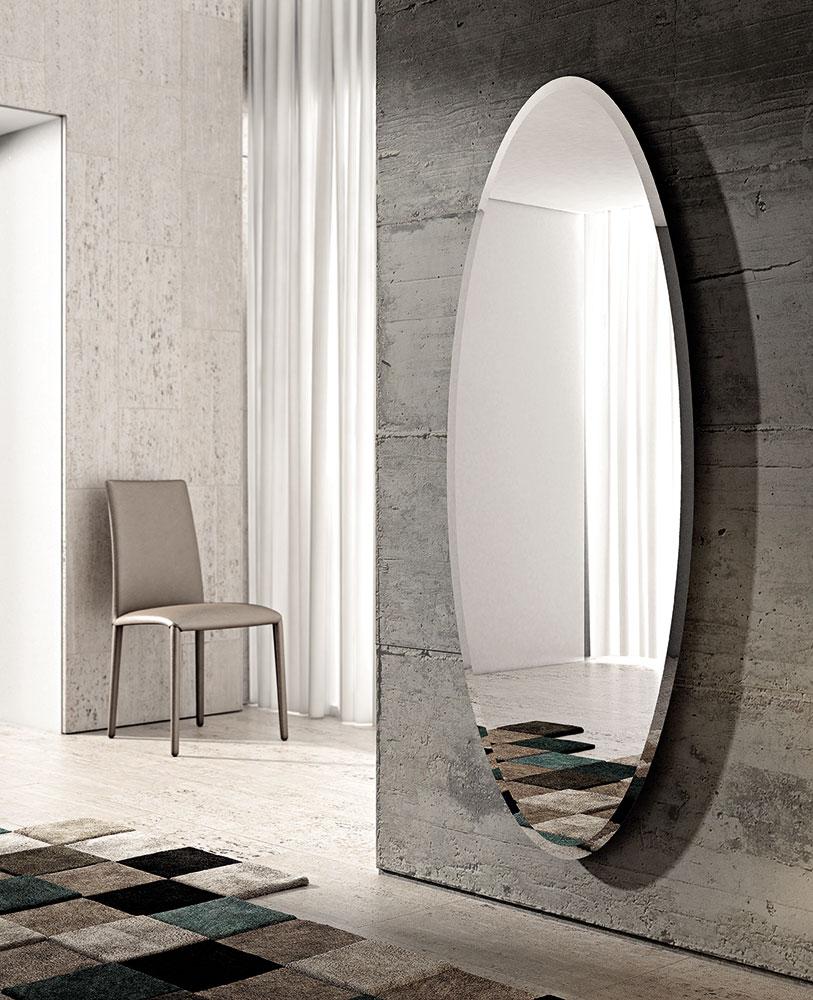 Riflessi lanciata la nuova linea di specchi a figura - Specchio senza cornice ...