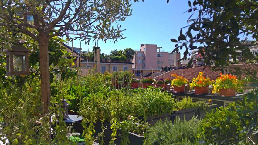 Hotel Milano Scala | L\'Orto in terrazza - TheOldNow
