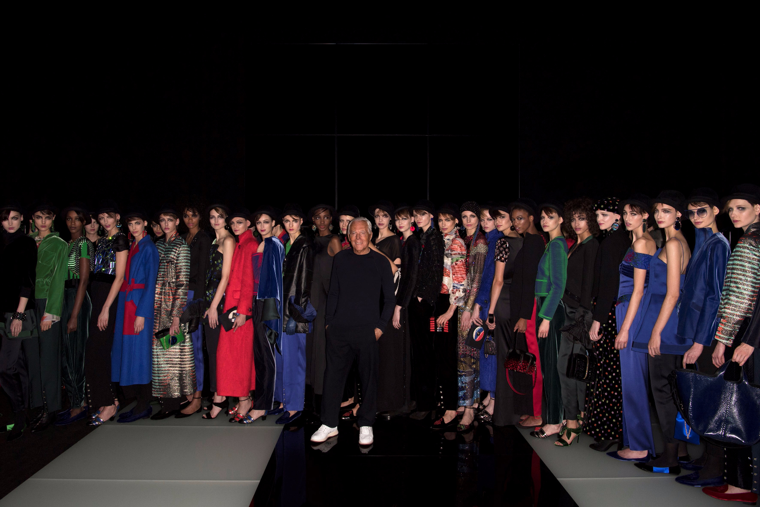 Giorgio Armani Womenswear FW1718_GA with models